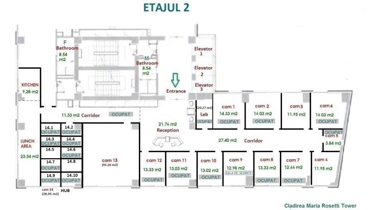 Rosetti Tower - Etajul 2